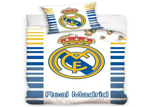 Real Madrid Dekbed real madrid barcode (RM8033): 140x200/70x80 cm