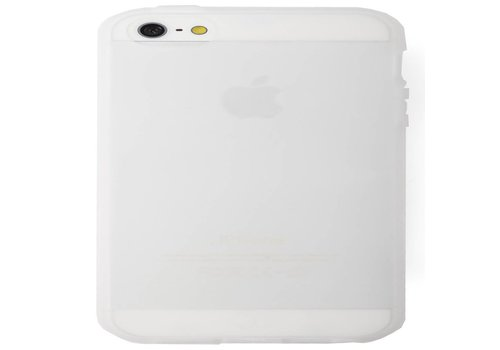 Softcase Dresz: iPhone 5/5S Transparant (2005205001)