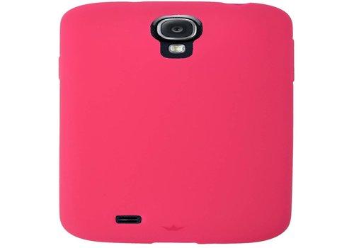 Softcase Dresz: Samsung S4 Pink (2104202001)