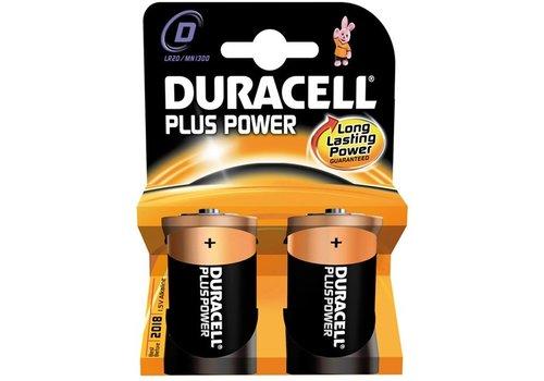 Batterijen Duracell Plus Power MN 1300 D: 2 stuks