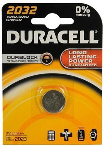 Knoopcel Duracell Professional Lithium CR2032: 3V (03391)