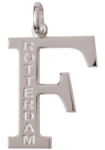 Feyenoord Hanger feyenoord zilver letter F