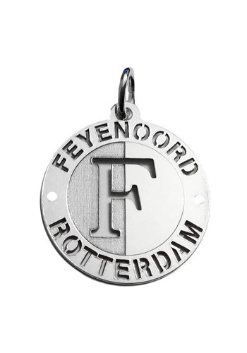 Feyenoord Hanger feyenoord zilver open logo 18mm