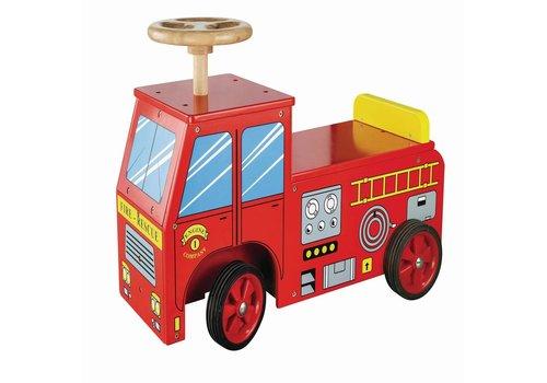 Loopauto brandweer New Classic Toys 43x60x22 cm (11370)