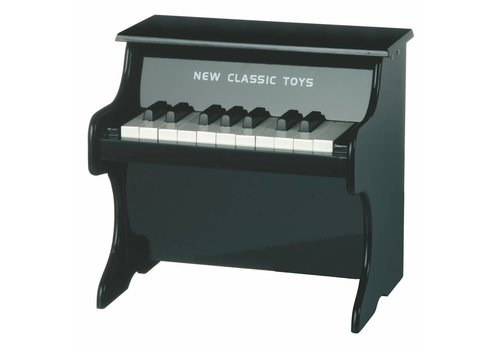 Piano zwart New Classic Toys 29x28x25 cm (10157)