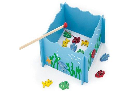 Magnetisch visspel New Classic Toys 25x19x4 cm (56305)