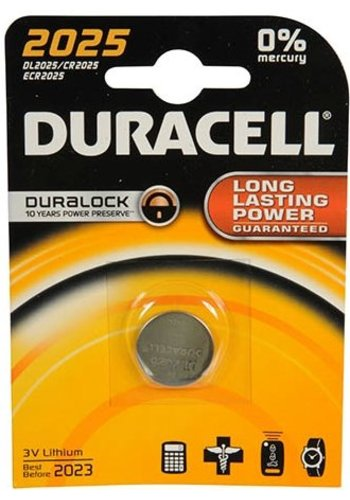 Knoopcel Duracell Professional Lithium CR2025: 3V (03397)