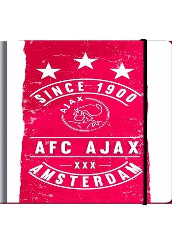 AJAX  Elastomap ajax rood/wit since 1900