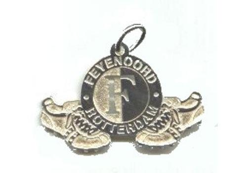 Feyenoord Hanger feyenoord zilver logo/schoenen groot