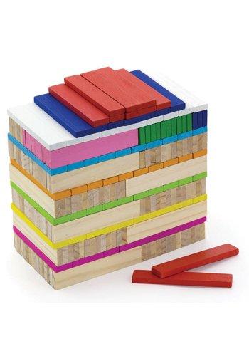 Bouwblokken New Classic Toys: 250 stuks 29x26x32 cm (50956)