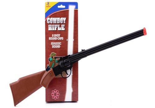 Cowboy geweer JohnToy: 8 schots (26403)