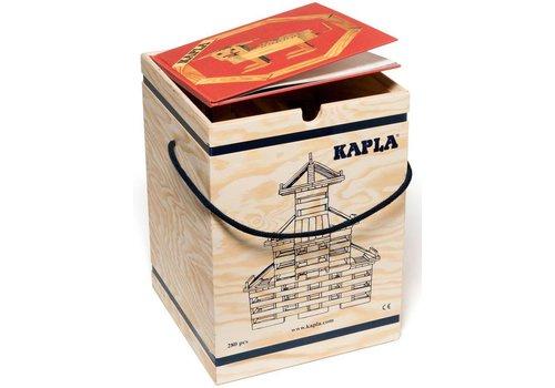 Kapla 280 stuks in kist met boek