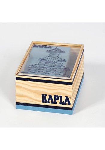 Kapla 40 stuks in kist lichtblauw