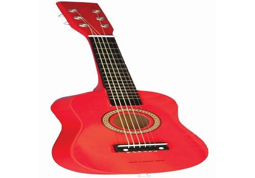 Gitaar rood New Classic Toys 59x20x6 cm