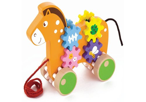 Trekdier New Classic Toys: paard 20x17x5 cm (50976)