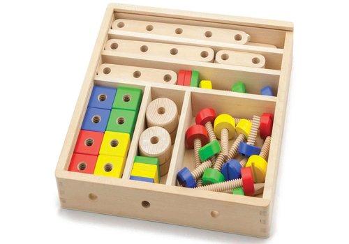 Constructie set New Classic Toys 31x31x6 cm (50490)