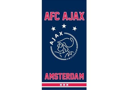 AJAX  Handdoek ajax blauw since 1900: 50x100 cm