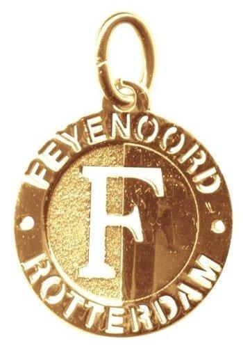 Feyenoord Hanger feyenoord goud open logo 18 mm