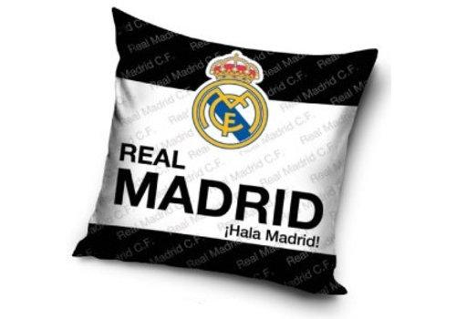 Real Madrid Kussen real madrid zwart/wit/zwart: 40x40 cm (RM16_4004)