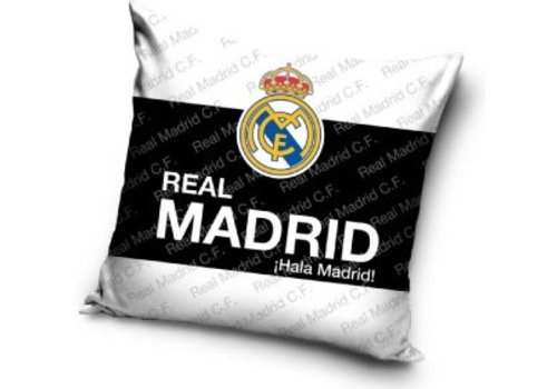 Real Madrid Kussen real madrid wit/zwart/wit: 40x40 cm (RM16_4005)