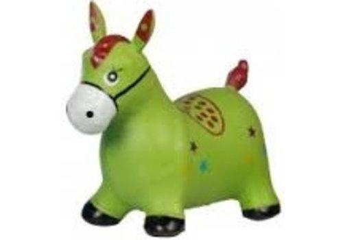 Skippy paard groen Eddy Toys 49x43x28 cm (92482GR)