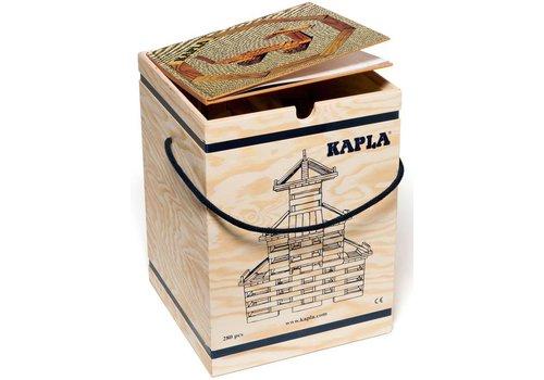 Kapla: 280 stuks in kist met boek: beige (8003-BEIGE)