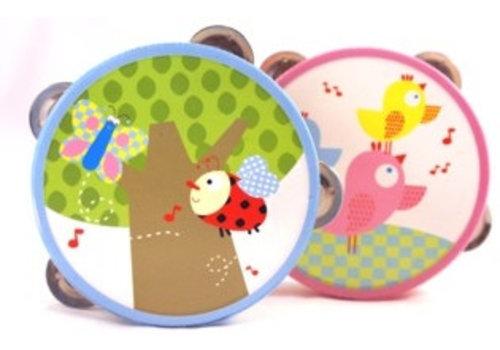 Tamboerijn wit/deco Simply for Kids 15x15x5 cm
