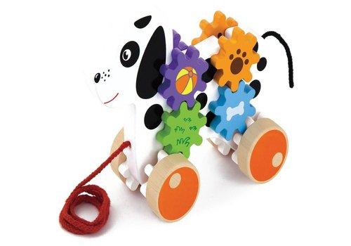Trekdier New Classic Toys: hond 19x16x5 cm (50977)