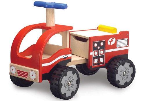 Loopauto Brandweer Wonderworld 29x51x40 cm (WW-4031)