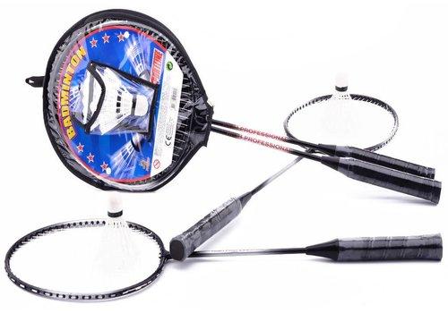 Badminton set JohnToy met shuttles (20140)