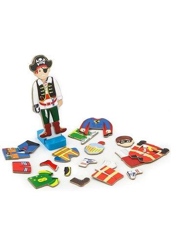 Aankleedspel magnetisch New Classic Toys 23x19x5 cm