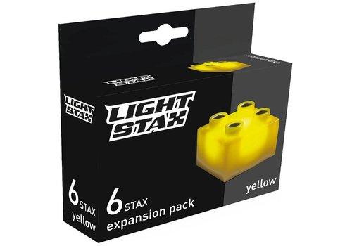 Uitbreiding Light Stax junior: geel 6 stuks 2x2 (LS-M04002)