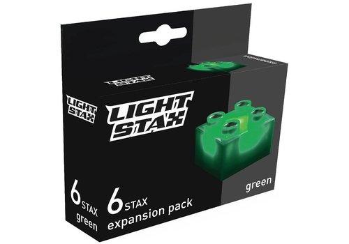 Uitbreiding Light Stax junior: groen 6 stuks 2x2 (LS-M04004)