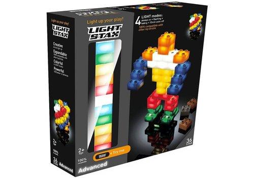 Advanced Light Stax junior: mix 36 stuks 2x2 (LS-M05001)