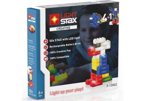 Creative Light Stax: mix 50 stuks ass en kabel (LS-S12002)