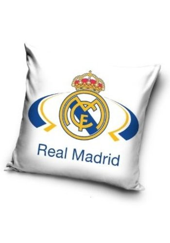 Kussen real madrid wit: 40x40 cm (RM16_2005)