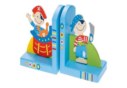 Boekensteunen piraat Simply for Kids 13 cm.