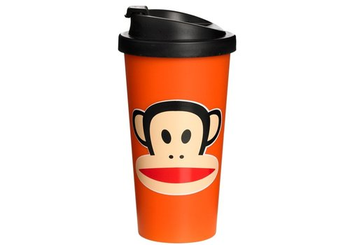 Thermobeker 500 ml oranje Paul Frank