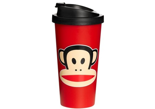 Thermobeker 500 ml rood Paul Frank