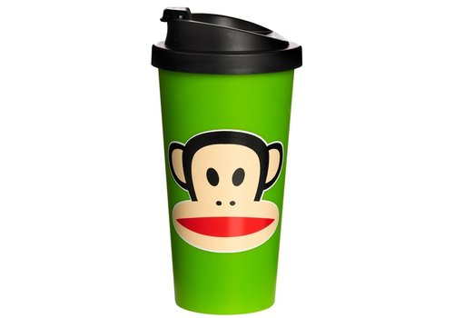 Thermobeker 500 ml lime groen Paul Frank