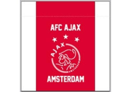 Ajax  Prullenbak ajax wit/rood/wit