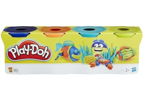 Refill Play-Doh 4-pack: 448 gram (B5517)