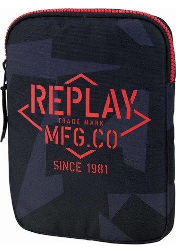 Ipad cover Replay black camouflage (152RPB685)