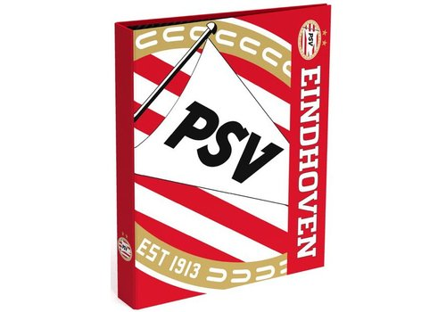 PSV Ringband psv A4 rood/wit blow 23-rings (393142)