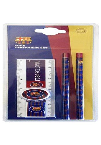 FC Barcelona Schrijfset barcelona 5-delig