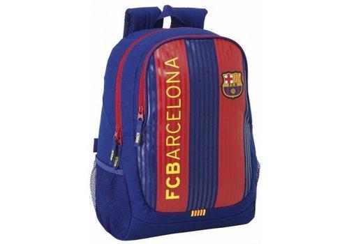 FC Barcelona Rugzak barcelona rood/blauw classic: 44x32x16 cm (611629665)