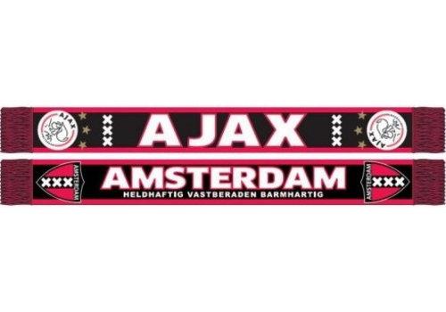 Ajax  Sjaal ajax rood/zwart kruizen (SJA9809072)