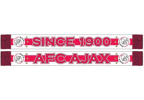 Ajax  Sjaal ajax rood/wit since 1900 (SJA16061101)