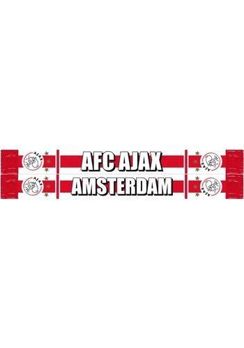 AJAX  Sjaal ajax wit/rood/wit AFC (SJA17552003)