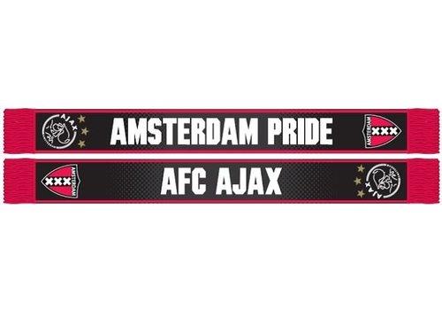 Ajax  Sjaal ajax rood/zwart AFC pride (SJA1755AFCAJAXRZ)